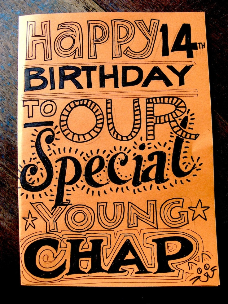 Hand drawn birthday card paper Pinterest – Birthday Card Drawing Ideas