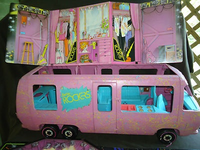 Vintage Barbie Van 68