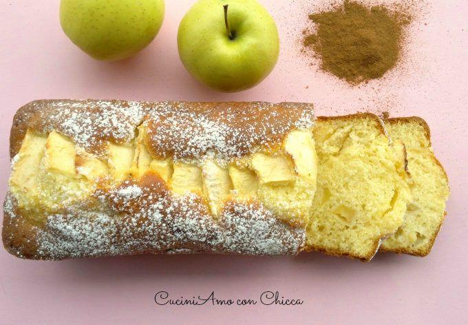Plumcake mele e yogurt |Cuciniamo con Chicca