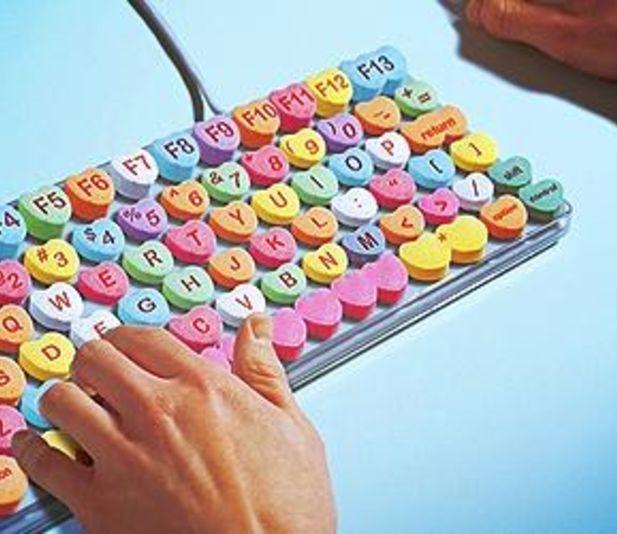 Candy Hearts Keyboard