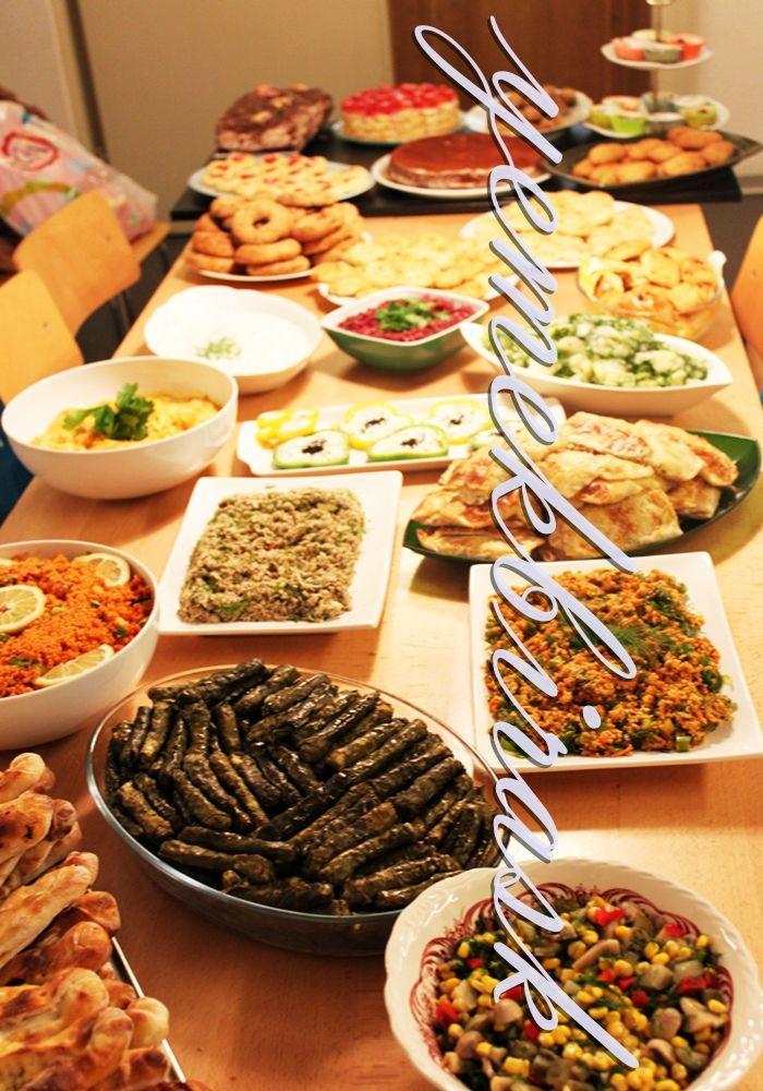 yemek bir aşk: davet sofrası | Davet menüleri ...