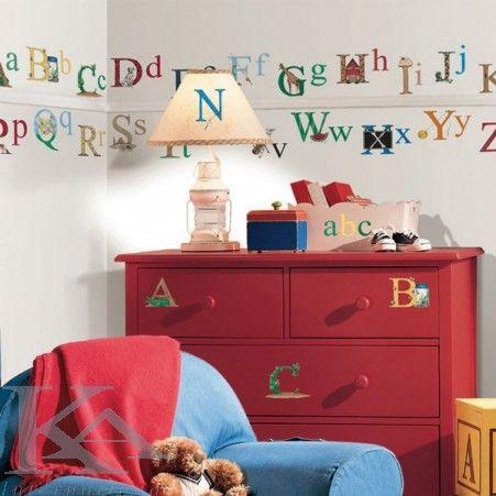 Sticker Alfabet