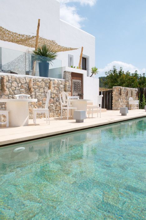 For all the superlatives that can be applied to The Giri Residence, a boutique hotel in the in the northern village of San Juan in Ibiza, it is so much more than words. It's a feeling.