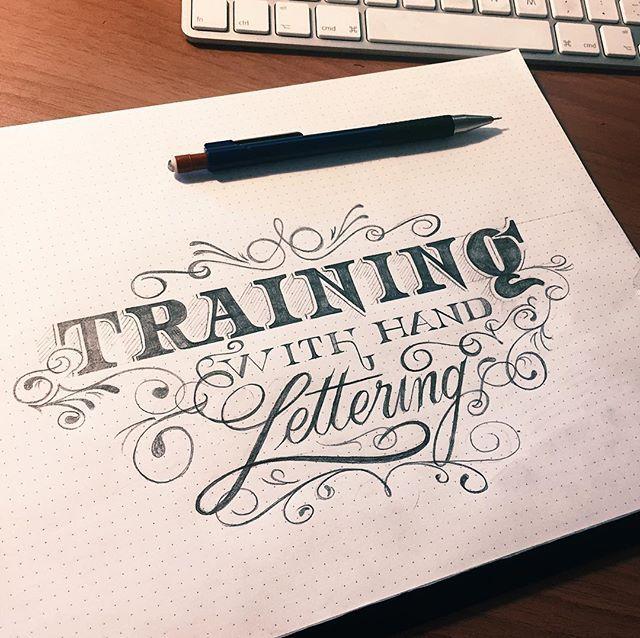 Training with hand lettering #typegang #typism #illustration #brush #illustrationoftheday #pixels  #adobe  #design #creatività #graphic #graphicdesign #stayflat #vintagetypography #canvas #vintagetypewriter #letters #lettering #letterist #letter #type #typo #typography #old #handmade #handletters #handlettering #handlettered #typographyinspired #typography #typespire #typematters #typespire