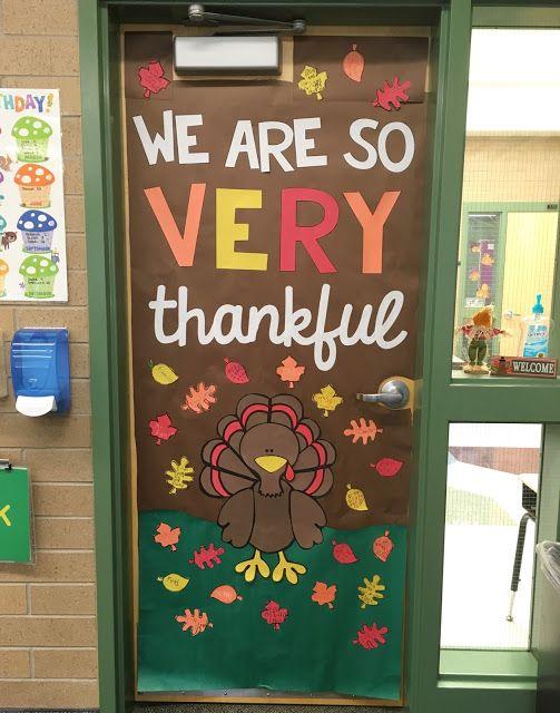 November/Thanksgiving Door Decor