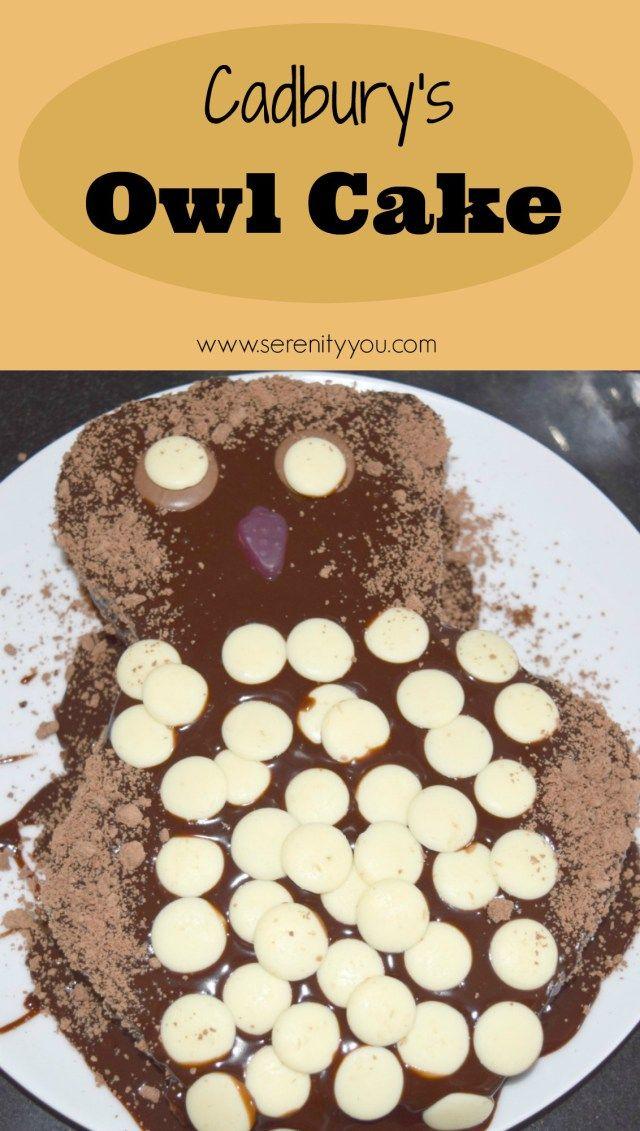 Cadbury's Button Owl Cake Recipe