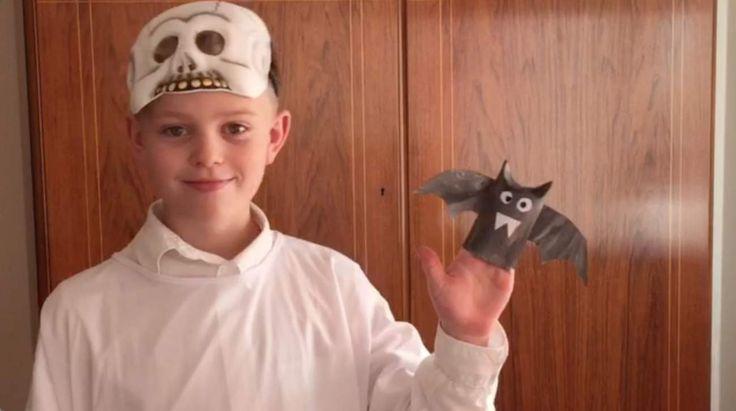Halloweenpyssel fladdermus | Nöje | Expressen.tv