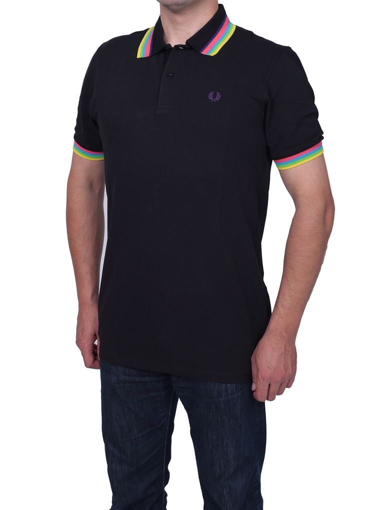 Only 23.90€   Fred Perry Slim Fit Men's Polo T-Shirt Polo Collar, Button Placket, Short Sleeves, Bay leaf brand Logo  www.fashionworldoutlet.com