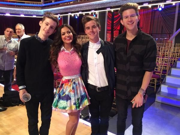 Troye Sivan, Connor Franta, and Ricky Dillon at Bethany Mota's Dancing With the Stars Premiere! (cethany...)