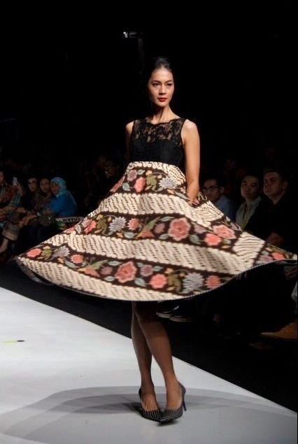Edward hutabarat batik dress fashion