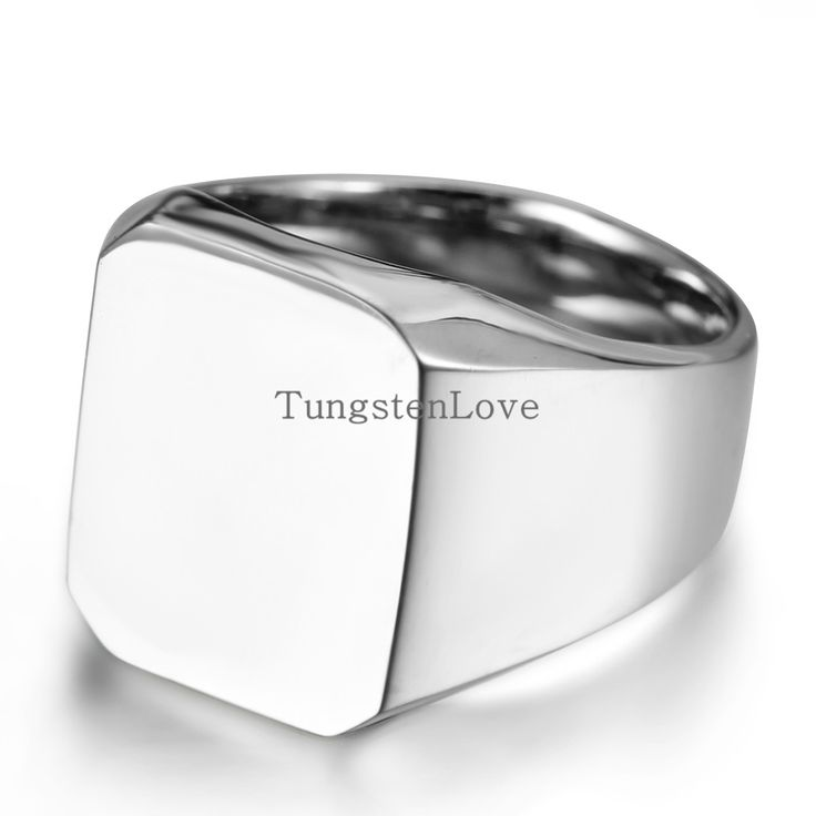 High Polished Men's Stainless Steel Punk Rings For Engagement Party Mens Signet Ring Biker Rings Silver Colour Size 8/9/10/11/12 www.bernysjewels.com #bernysjewels #jewels #jewelry #nice #bags