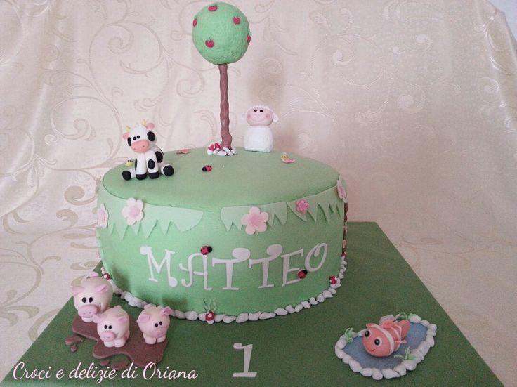 Farmyard cake, farm cake, torta fattoria