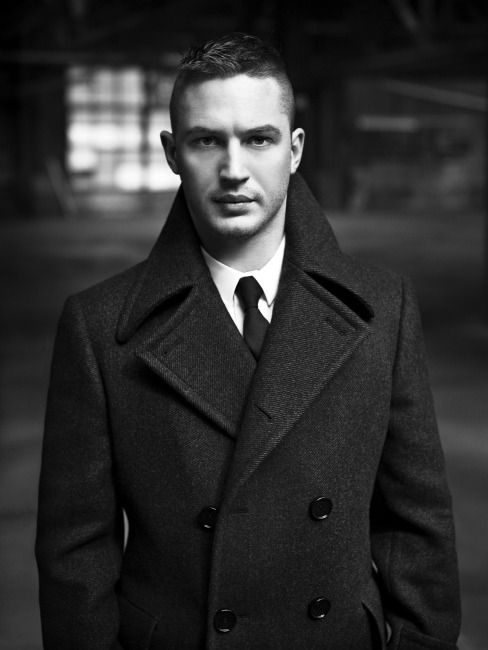 tom hardy... I am in need of a Proper Jacket like this