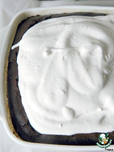 Шоколадный пирог с лимонным курдом и воздушной меренгой ингредиенты
