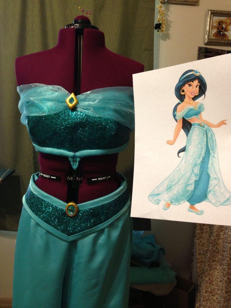 Princess Jasmine Halloween Costumes