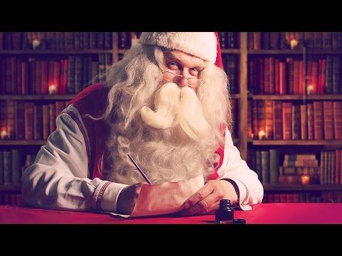The personalized video message from Santa Claus