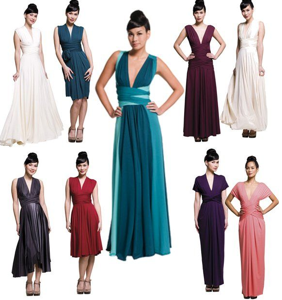 Evening Dress For The Wedding Party