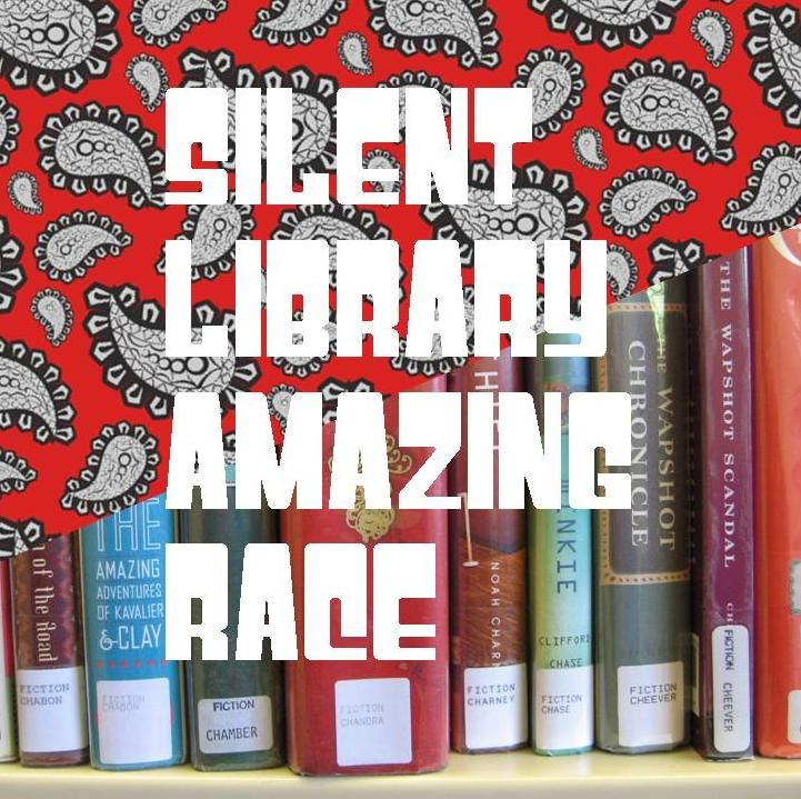 Shhhh! It's the Silent Library Amazing Race! | For Teens