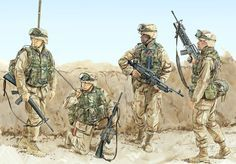 Modern US Marines in Iraq