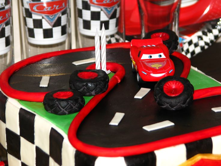 Cars cake for Adrian's 2nd birthday X