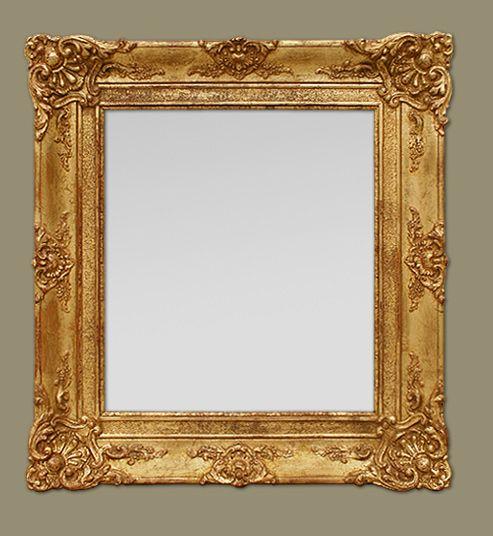 Glace miroir ancien poque restauration miroir pinterest for Immense miroir
