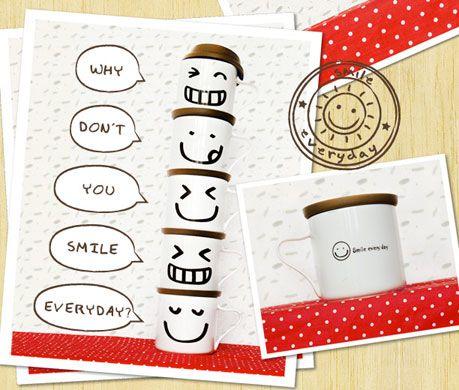happy everyday mug,, make your mood always happy ^_^