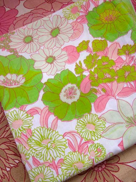 green and pink sheet