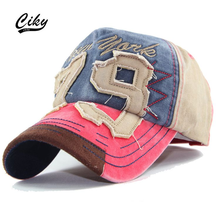 Fashion Cotton Casual Adult Baseball Cap Boy Gorras Letter Embroidery Patchwork Snapback Cap Sport Outdoor Sun Hat  TH-053