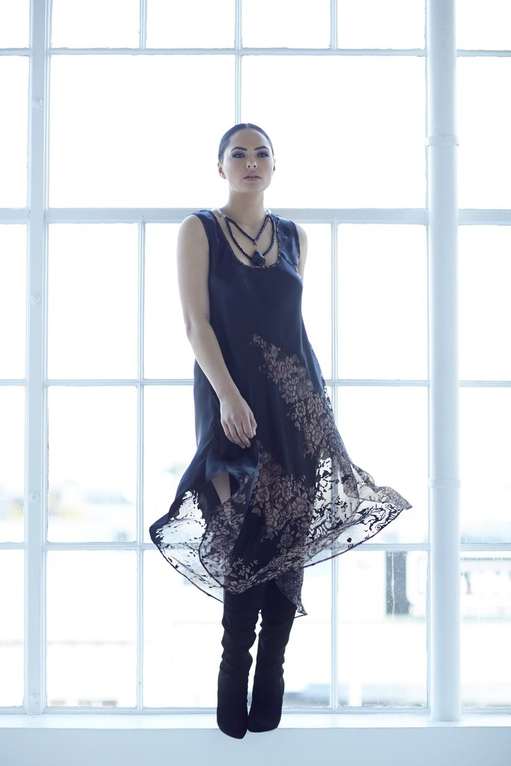 Chocolat 72281CD - China Doll Silk Dress