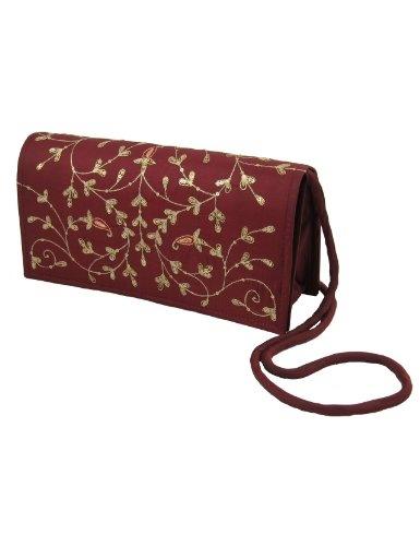 Bolsos-clutches para mujeres tela de seda bordado a mano: Amazon.es: Juguetes y juegos