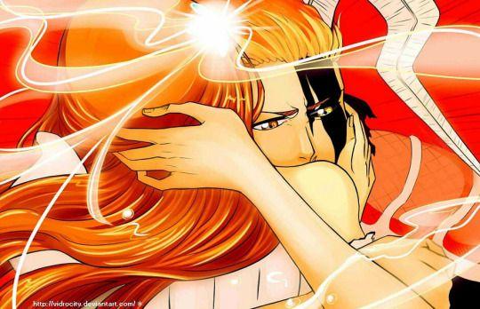 Ichigo ✼ Orihime Fanart