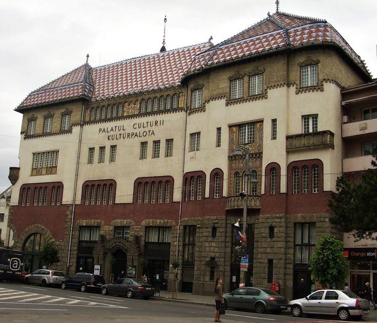Marosvásárhely régi épületei: A 100 éves Kultur Palota