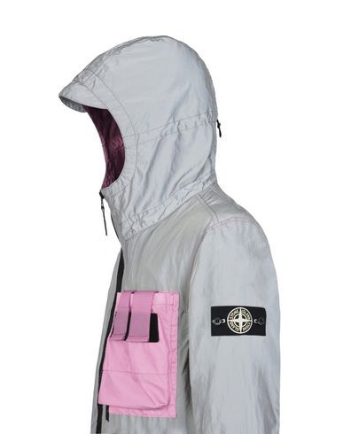 Mid-length jacket 453S6 GARMENT DYED PLATED REFLECTIVE WITH MUSSOLA GOMMATA STONE ISLAND - 4