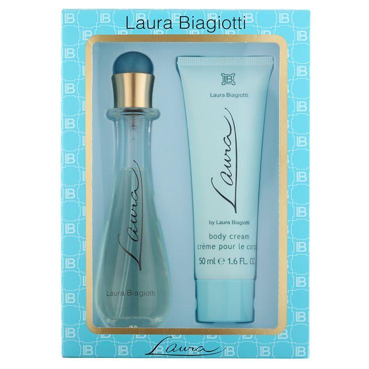Laura Biagiotti Laura darčeková sada I.  toaletná voda 25 ml + telové mlieko 50 ml