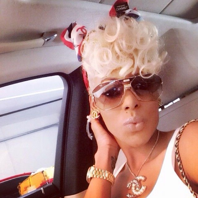 Keyshia Ka'oir #FashionKilla celebrated 4th of July en route to Youngstown, OH. Check out the final Gold Dipped outfit Keyshia Ka'oir wore that night...