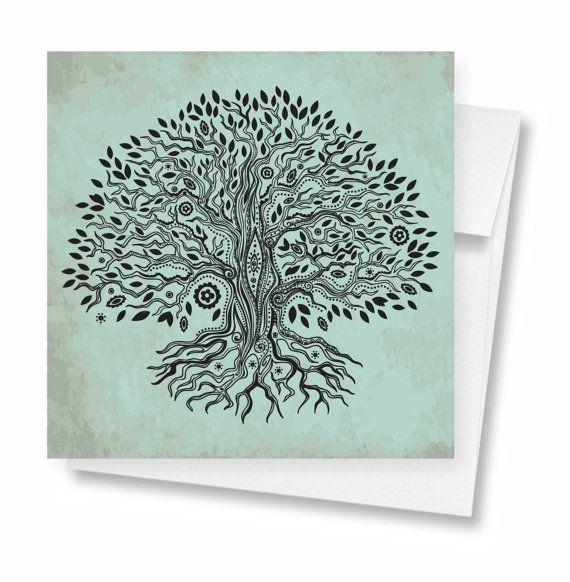 Tree of Life greeting card 036c