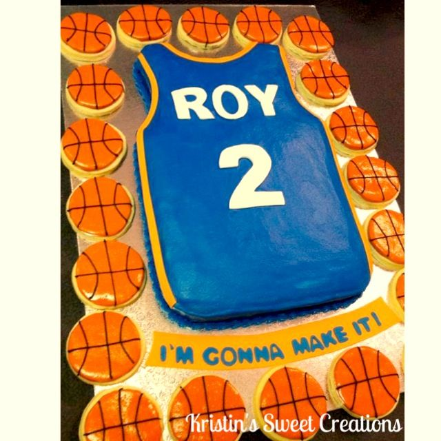 Basketball Jersey Cake Kristin S Sweet Creations