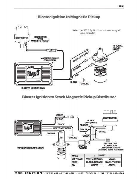 Msd Street Fire Hei Ignition Wiring Diagram in 2020