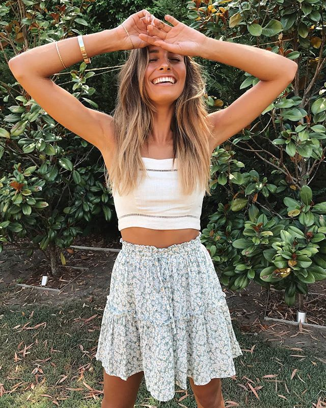 Our must have outfit!☀️Our Ebony Top & Just Dandy Skirt is back! It's ev... 13