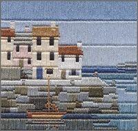 Longo Stitch Kit casas de pescadores 'Silken'