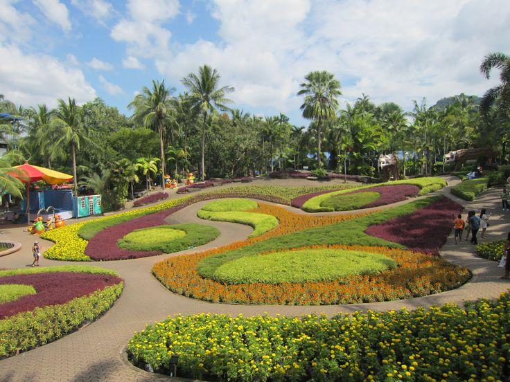 Nong Nooch Tropical Garden i Thailand