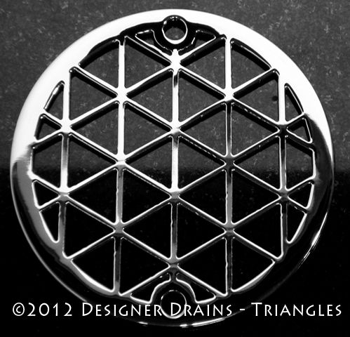 Designer Drains - Geometric Triangles