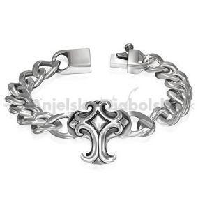 Pánske náramky z chirurgickej ocele, Anjelskydiabolské šperky, náušnice, prstene