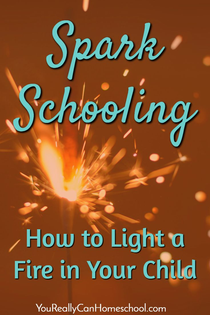 Spark Schooling How to Light a Fire in Your Child in 3 Simple Steps