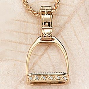 Ashley's #Horse_Jewelry Stirrups