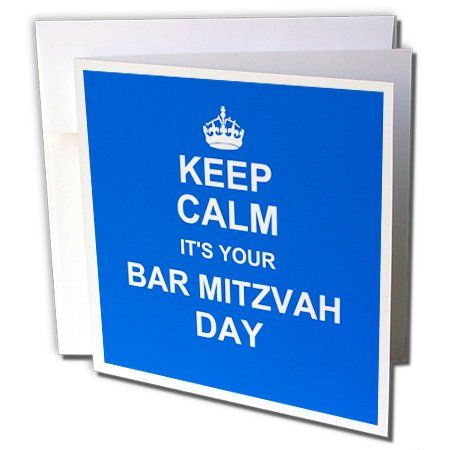8 best cards barbat mitzvah images on pinterest bat mitzvah inspirationzstore occasions keep calm its your bar mitzvah day blue good luck encouraging message boys jewish 13th birthday greeting cards m4hsunfo