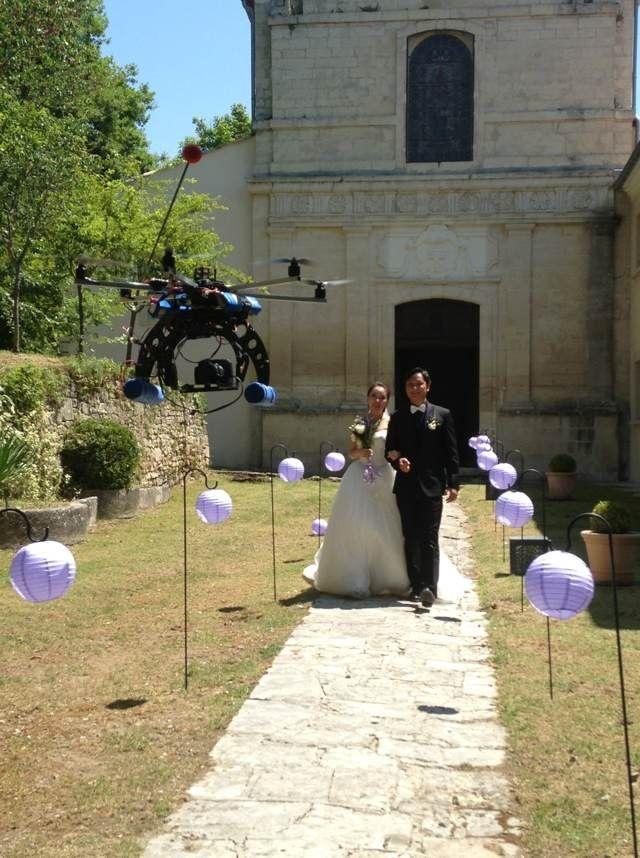 Film mariages, couvent des minimes - Evenementiel tournage vidéo drone - Notre actualité - Société - Dronimages