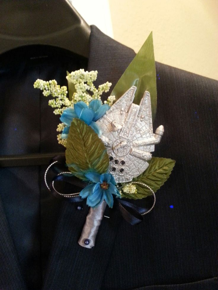Star Wars boutonniere
