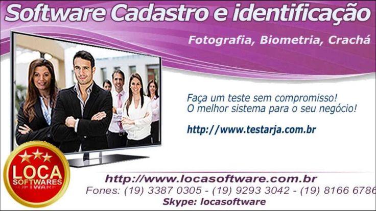 software para cadastro e identificação biometria foto