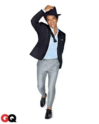 Bruno Mars GQ (Abril,2013)